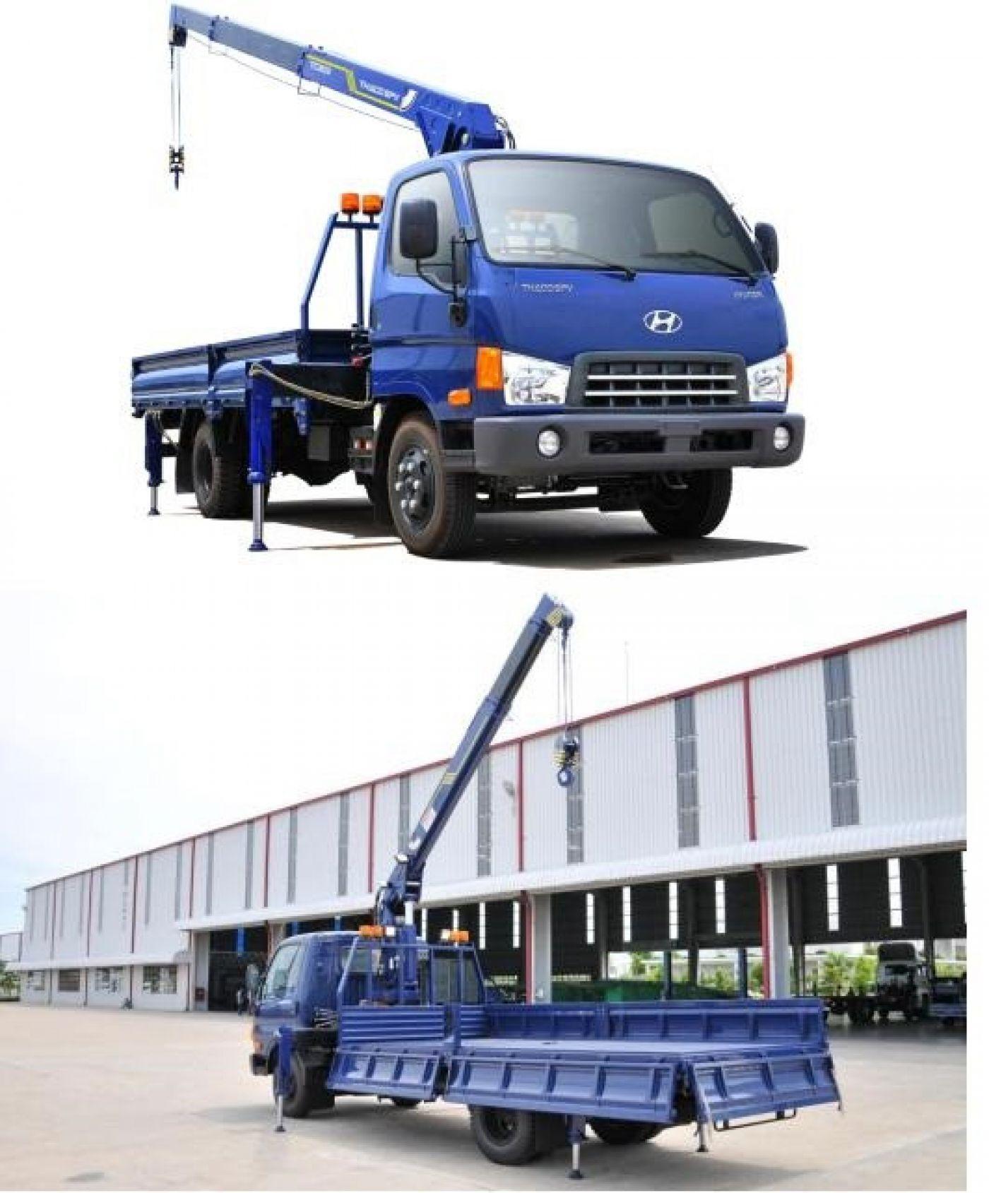 Xe cẩu tự hành Hyundai HD72 tải trọng 2.8 tấn