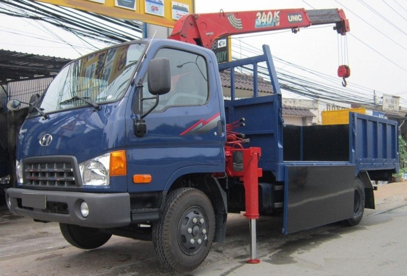 Xe cẩu tự hành Hyundai HD98 tải trọng 5.3 tấn