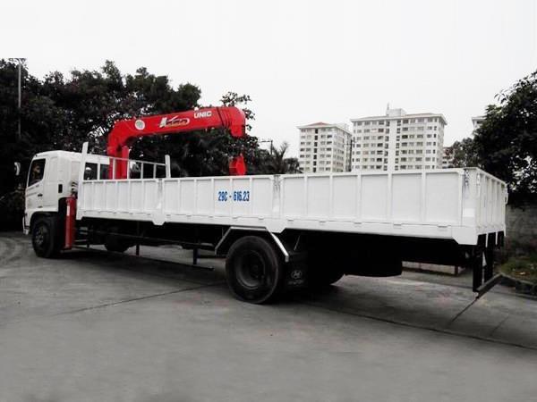 Xe tải Hino FG8 JPSB tải trọng 6.9 tấn gắn cẩu