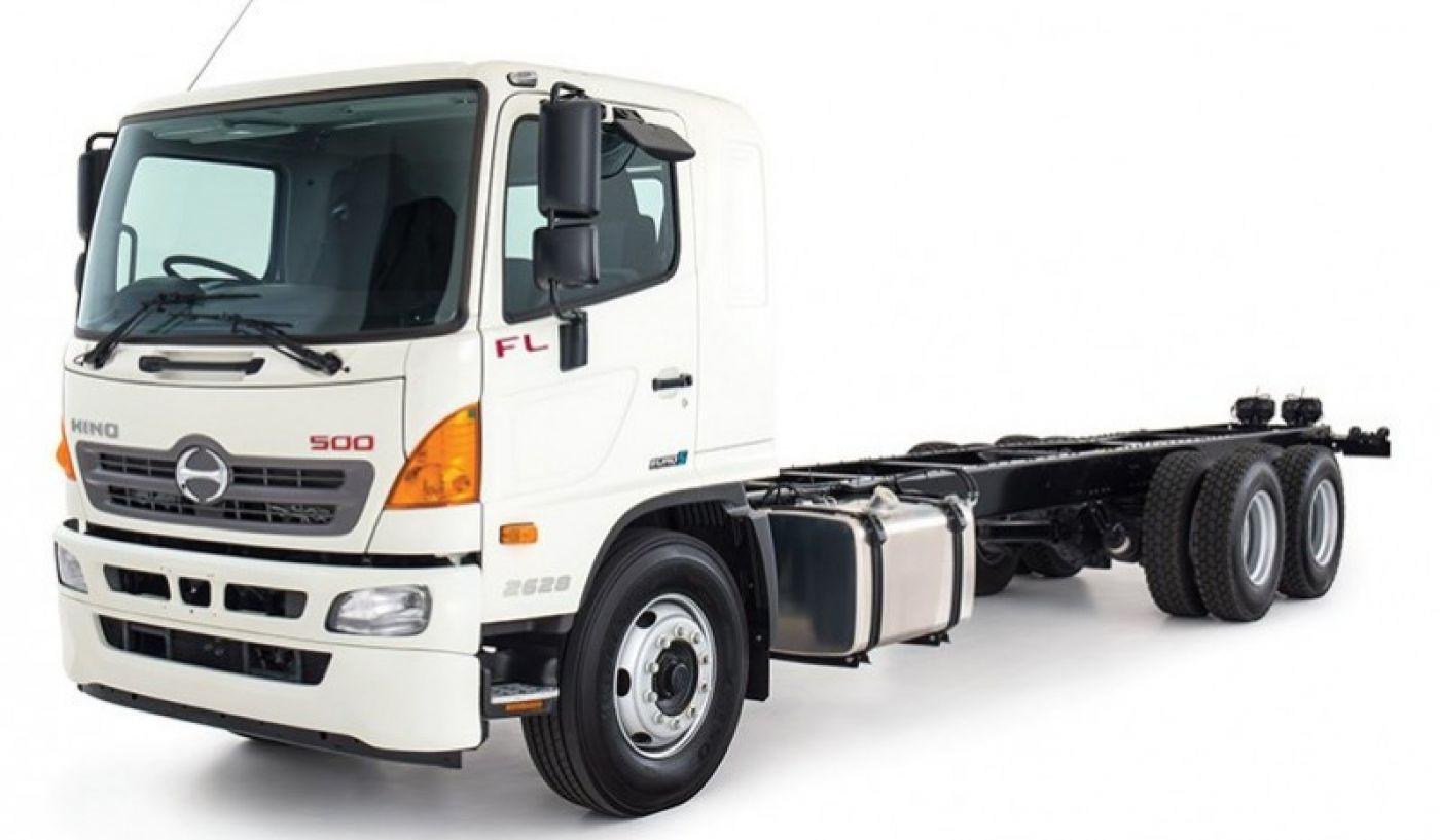 Xe tải Hino FL1 tải trọng 11 tấn gắn cẩu