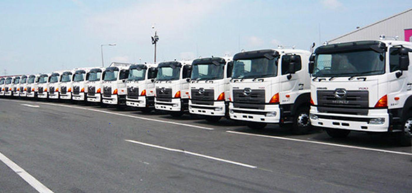 Xe tải Hino FL8 JTSL tải trọng 14.1 tấn gắn cẩu