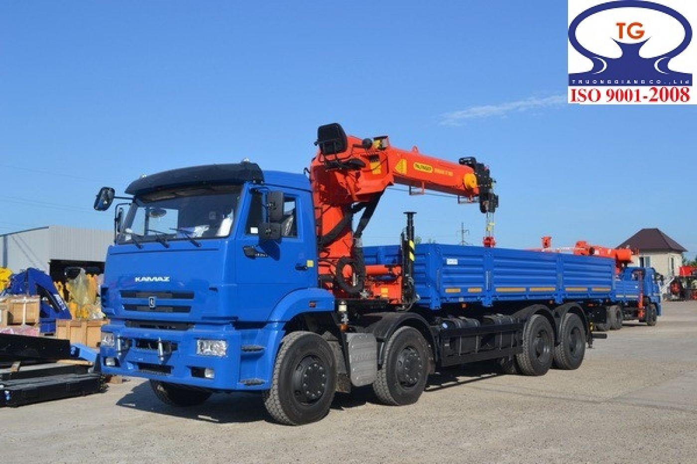 Xe tải cẩu Kamaz 14.6 tấn